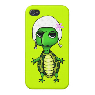 Swimming Turtle Cover For iPhone 4