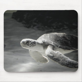 Swimming Turtle Mouse Pad