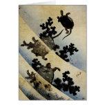 Swimming Turtles Card