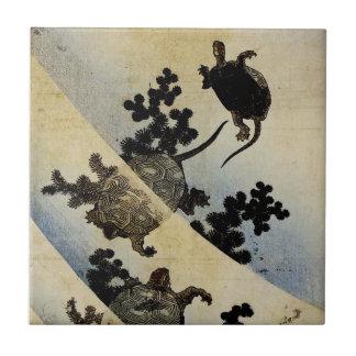 Swimming Turtles Tile