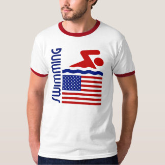 Swimming United States T-Shirt