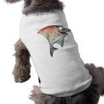 Swimming Upstream Fish Dog T Shirt