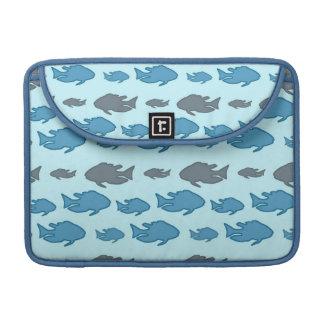 Swimming Upstream Fish MacBook Pro Sleeves