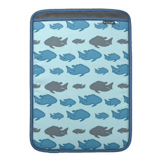 Swimming Upstream Fish MacBook Sleeve