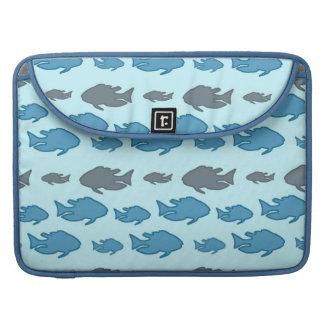 Swimming Upstream Fish Sleeves For MacBooks