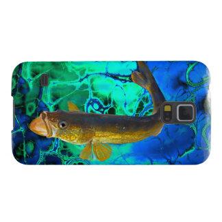 Swimming Walleye, Pickerel Fish Art Case For Galaxy S5