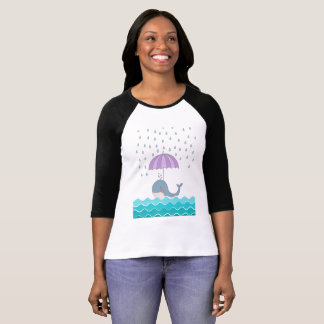 Swimming Whale T-Shirt
