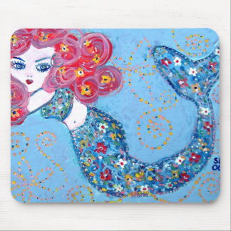 swimming with grace mouse pads