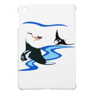 Swimming with Manta Case For The iPad Mini