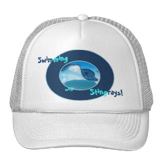 Swimming with Rays hat
