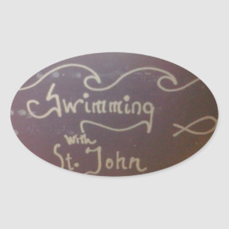 Swimming With St. John Stickers