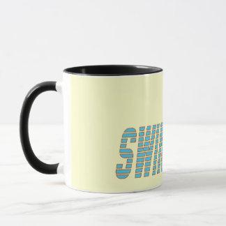 Swimming with Swimmer Mug