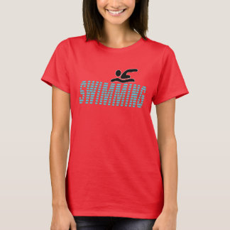 Swimming with Swimmer T-Shirt