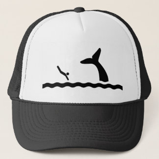 Swimming with the Whales Trucker Hat