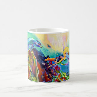 Swimming With Turtles - 11 oz Classic Mug