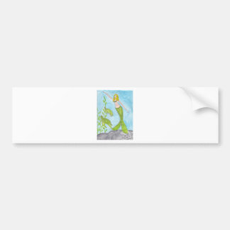 Swimming With Turtles Bumper Stickers