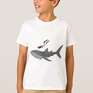 Swimming with Whaleshark T-Shirt