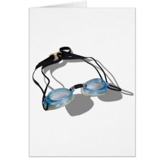 SwimmingGoggles091210 Greeting Card