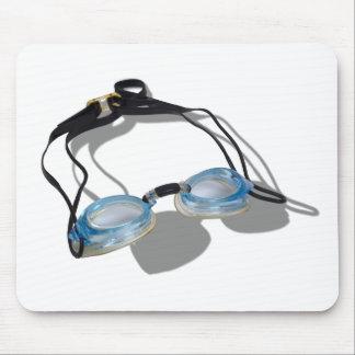 SwimmingGoggles091210 Mouse Pad
