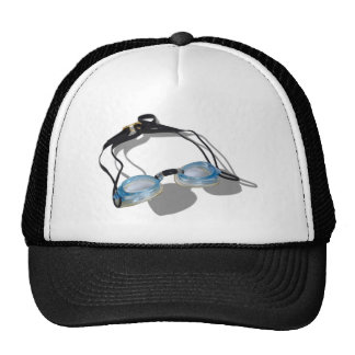SwimmingGoggles091210 Trucker Hat