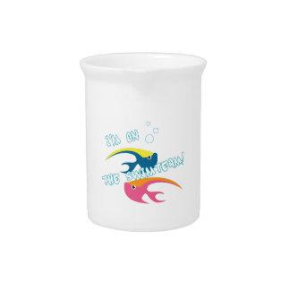 Swimteam Fish Beverage Pitchers