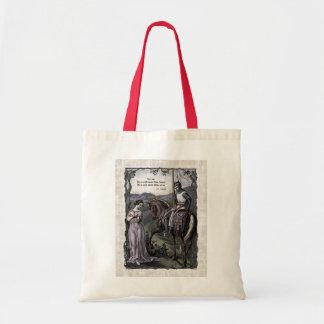 "Swinburne ""An Old Saying"" Victorian Tote Bag"