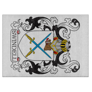 Swindell Family Crest Cutting Boards
