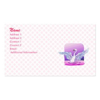 Swindie Swan Business Card