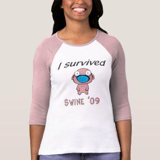 Swine 09 - Ladies T Shirts