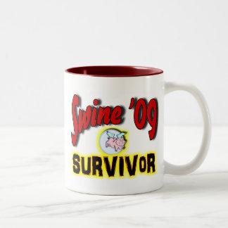 Swine '09 Survivor Coffee Mug