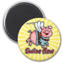 swine flew magnet