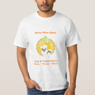 Swine Flew Shots Shirts
