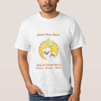Swine Flew Shots T Shirt