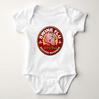 Swine Flu - Bacons Revenge! Baby Bodysuit