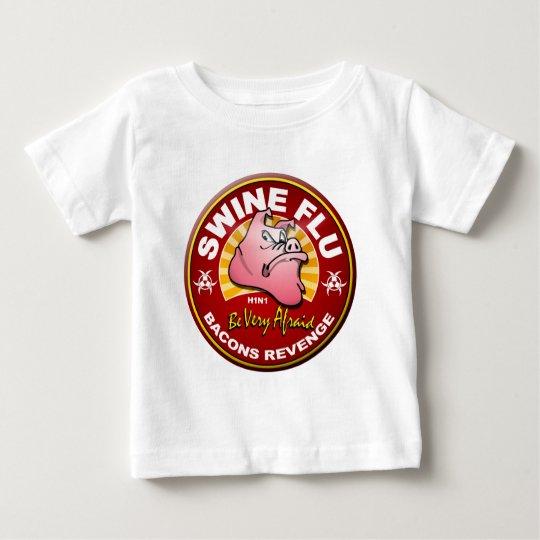 Swine Flu - Bacons Revenge! Baby T-Shirt