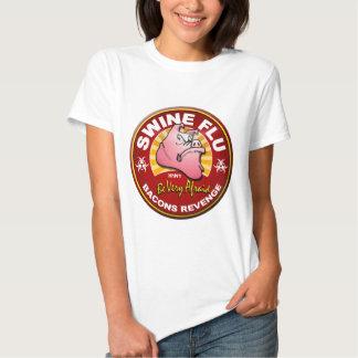 Swine Flu - Bacons Revenge! T Shirts