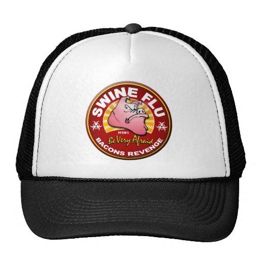 Swine Flu - Bacons Revenge! Trucker Hat