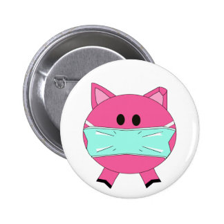 Swine Flu Badge Buttons