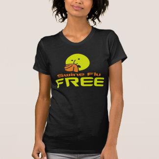 Swine Flu Free Shirts