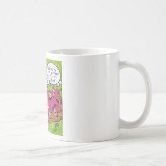 Swine Flu Hazard Coffee Mugs
