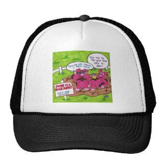 Swine Flu Hazard Hats