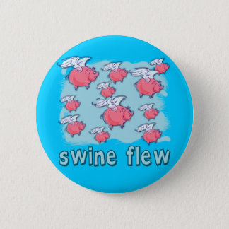 Swine Flu Humor Products Button