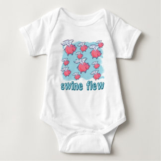 Swine Flu Humor Products Infant Creeper