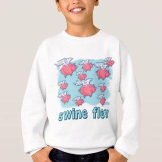 Swine Flu Humor Products Sweatshirt