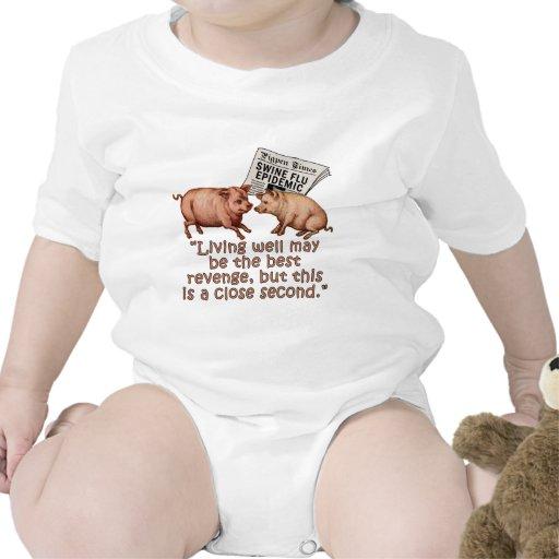 Swine Flu Humor Products T Shirt