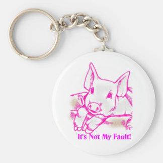 Swine Flu Keychain