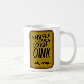 Swine Flu (mug) Classic White Coffee Mug
