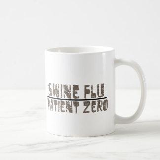 swine flu patient zero coffee mug