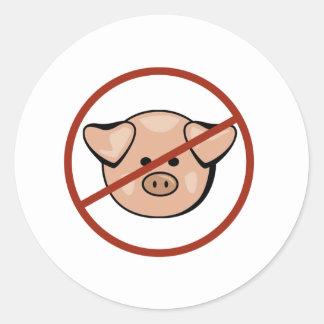 Swine Flu / Pork Sticker
