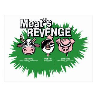 Swine Flu Postcard